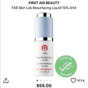 🆕 First Aid Beauty Resurfacing Liquid